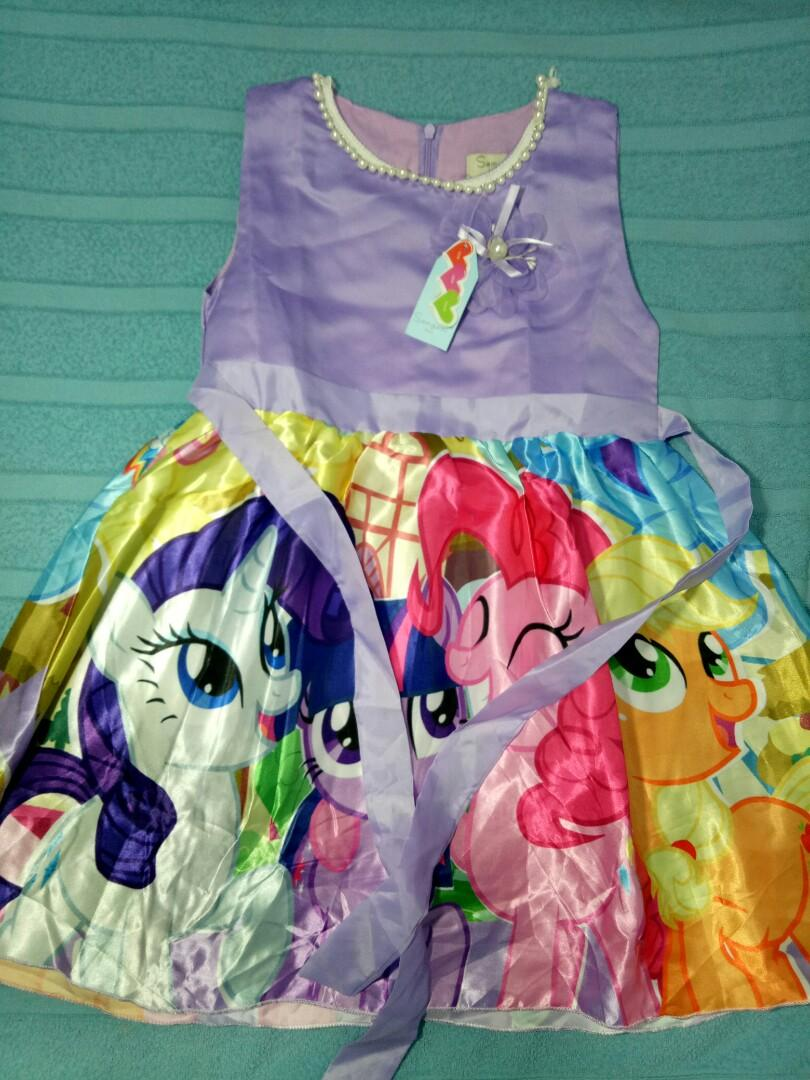 Dress Anak my little pony