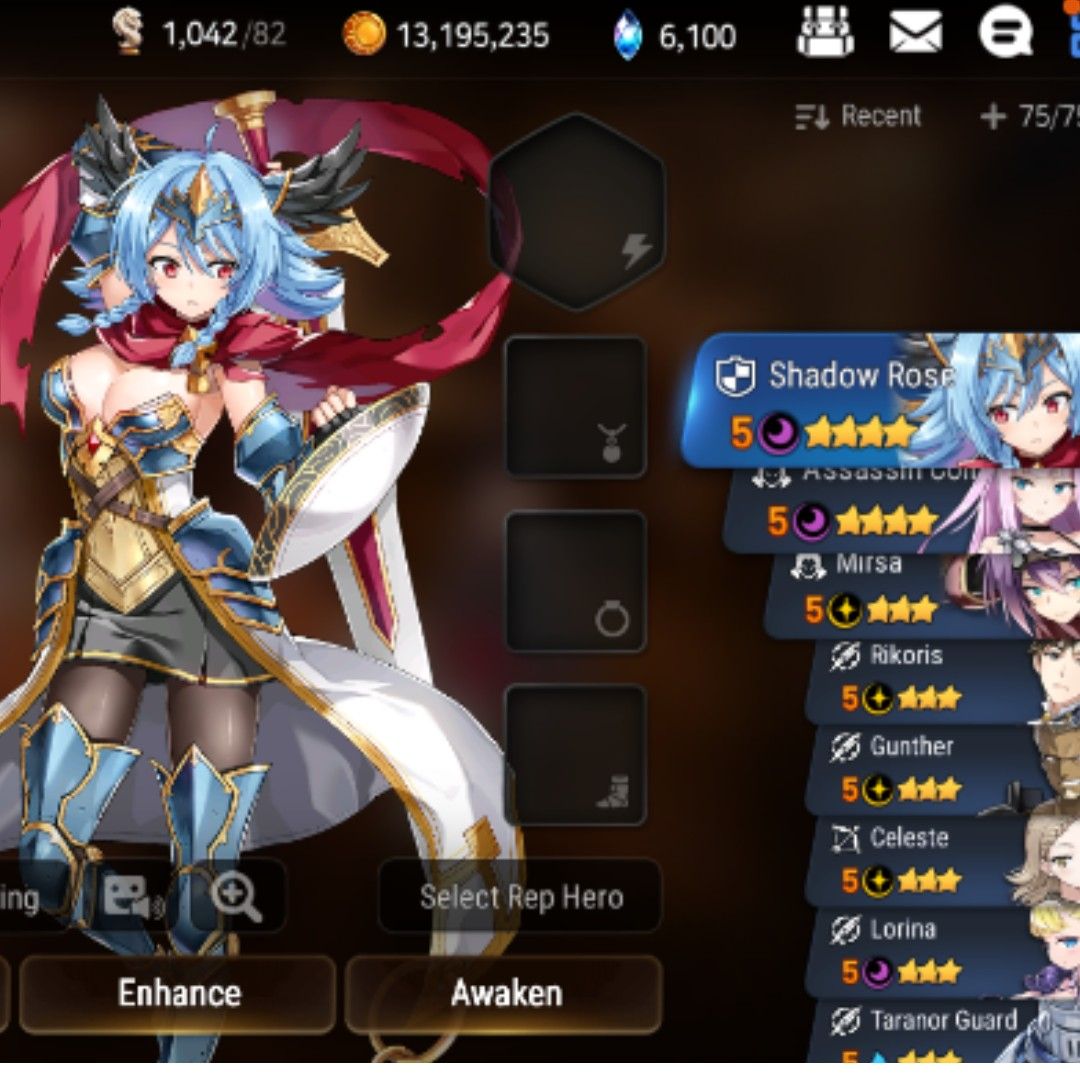 Epic Seven epic 7 starter account 6000skystones, Toys & Games, Video