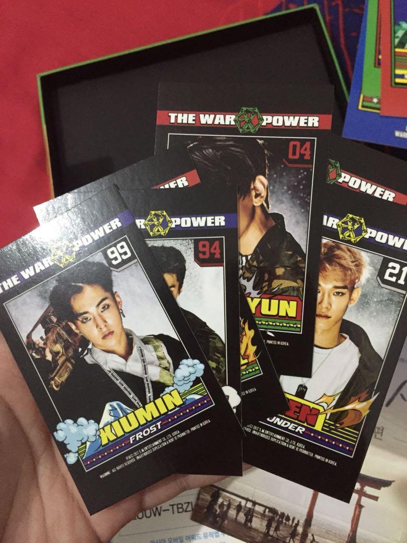 EXO POWER ALBUM no poster