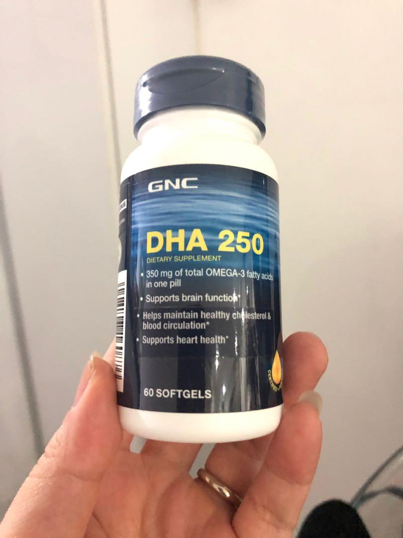 GNC Fish oil DHA 250