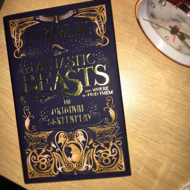 HARDCOVER Fantastic Beasts and Where To Find Them : The Original Screenplay