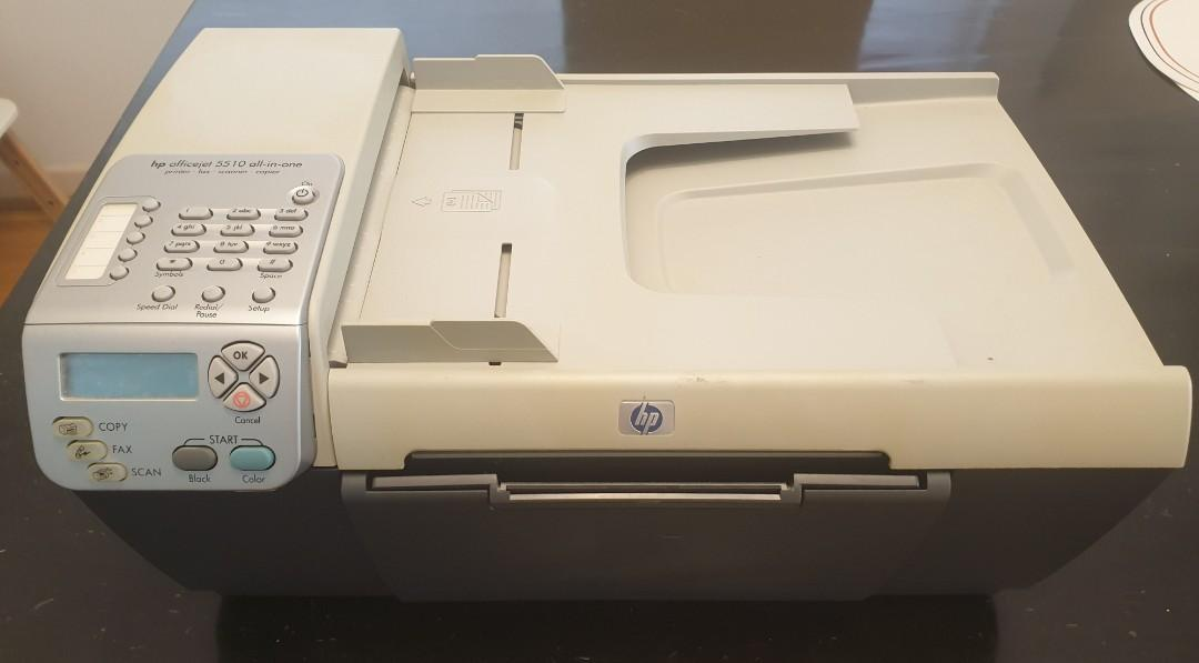 HP officejet 5510 All-in-One Colour Printer, scanner, fax