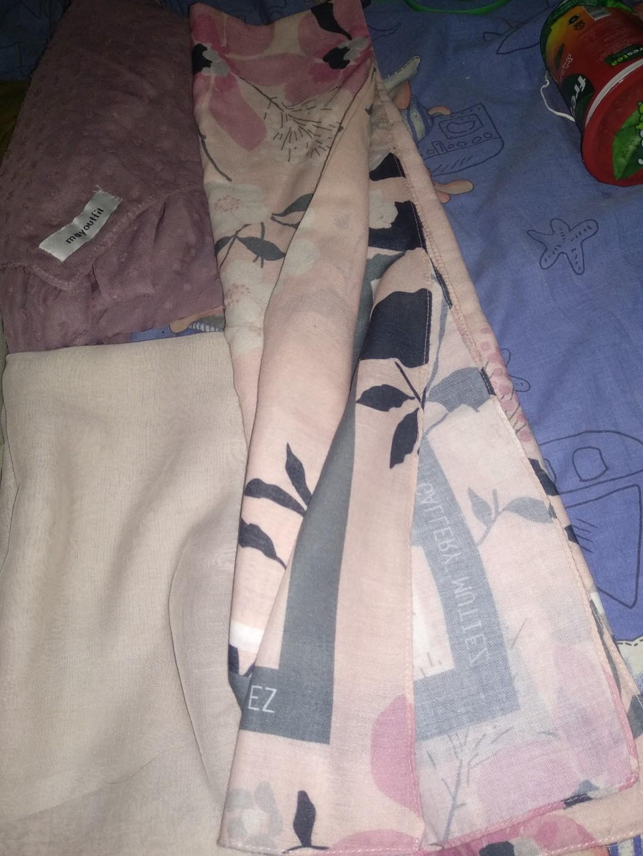 Kerudung scarf / segi empat