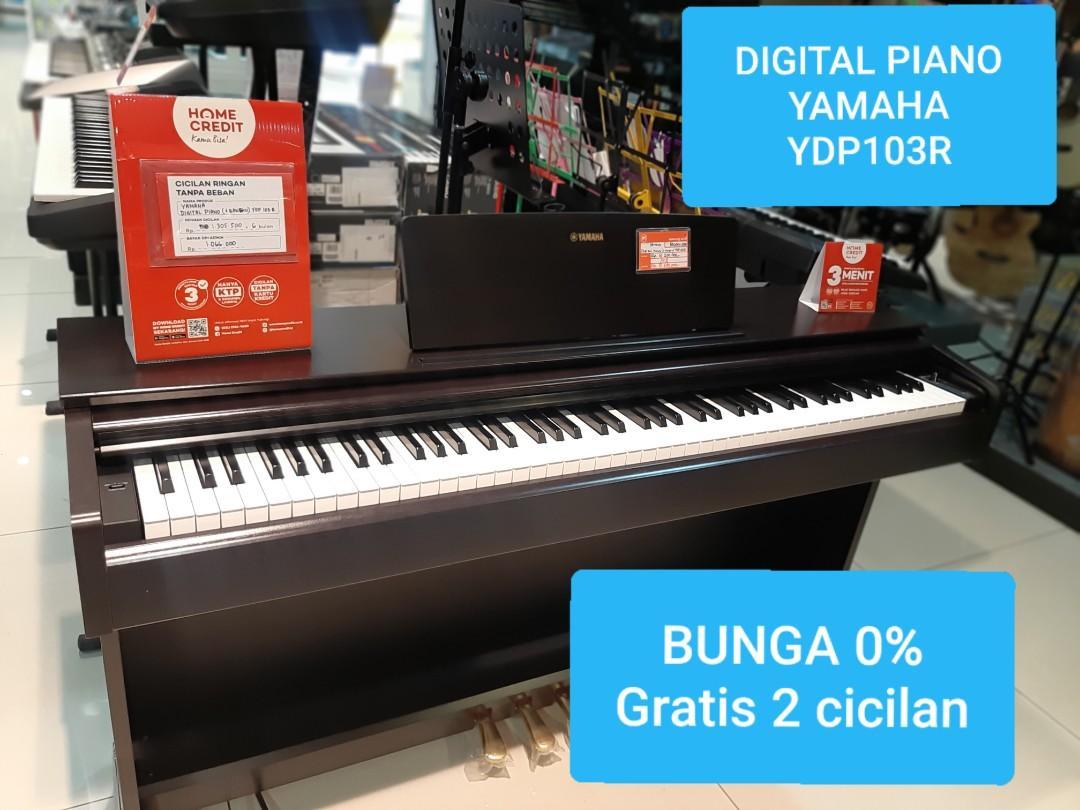 Kredit Digital Piano Yamaha Tanpa Kartu Kredit Bunga 0% Jakarta Barat