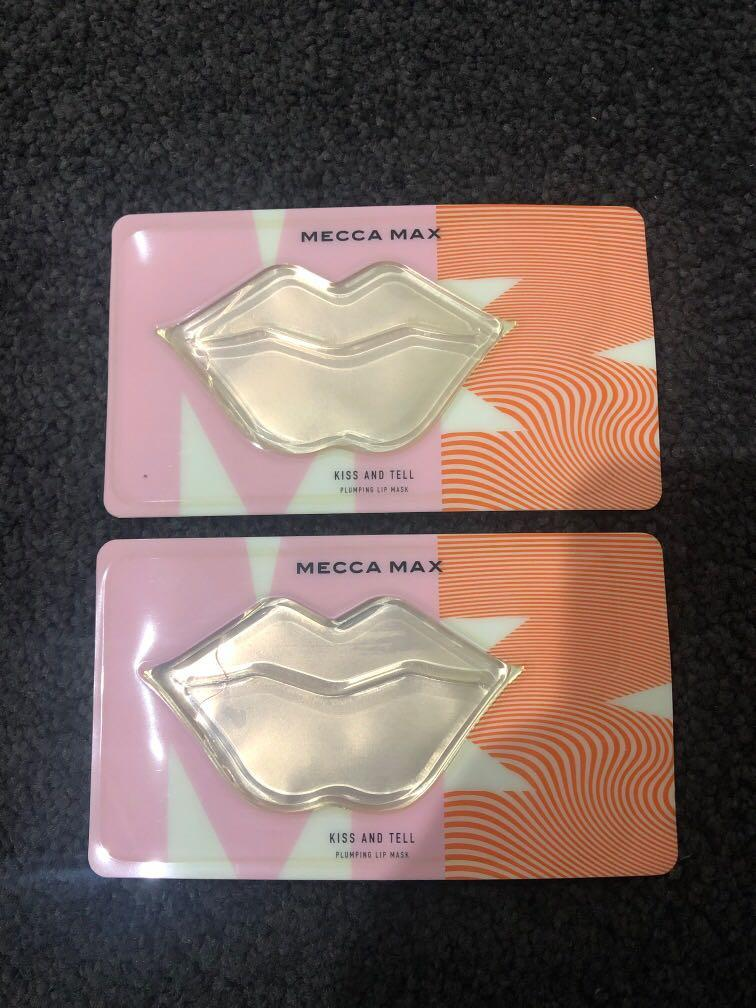 Mecca Max Kiss and Tell Plumping Lip Mask