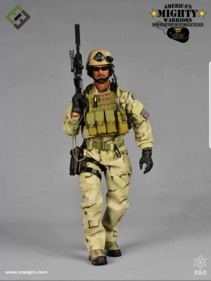 Lee-SEAL Team 3-Male Head Sculpt 1//6 Scale Toy Marc A