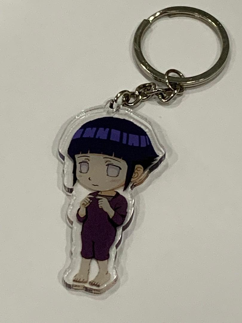 Naruto acrylic double sided keychain
