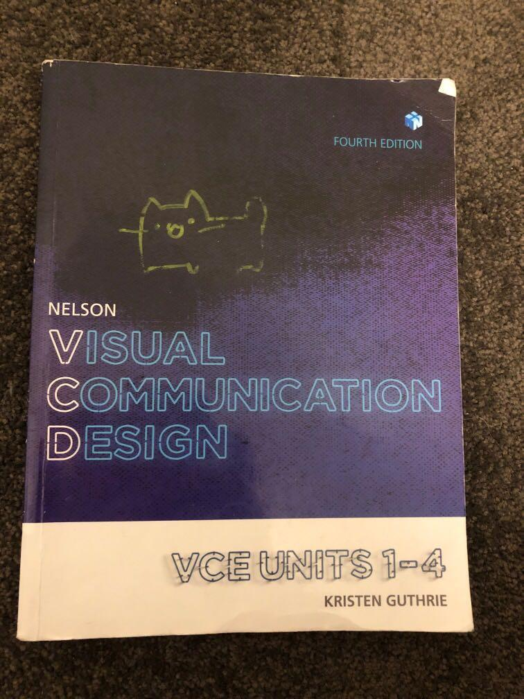 nelson visual communication design vce textbook unit 1-4(fourth edition)