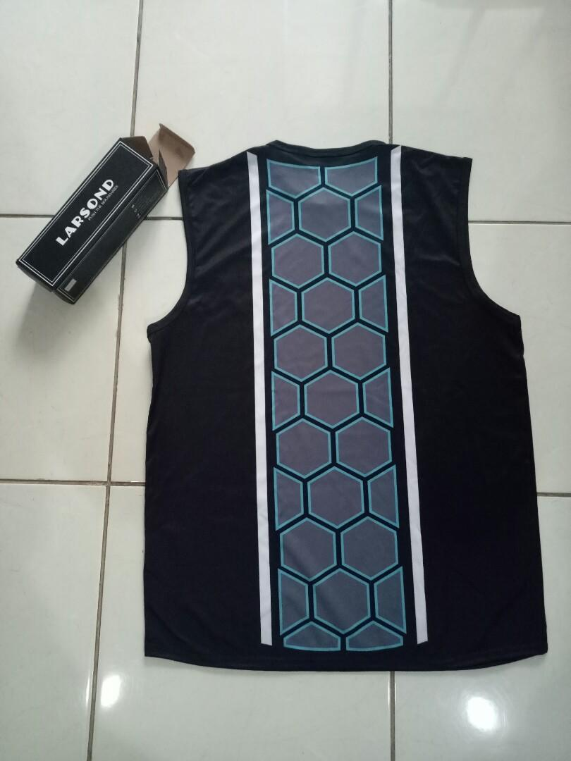 [NEW] Larsond Black Gym Sleeveless Shirt Unisex