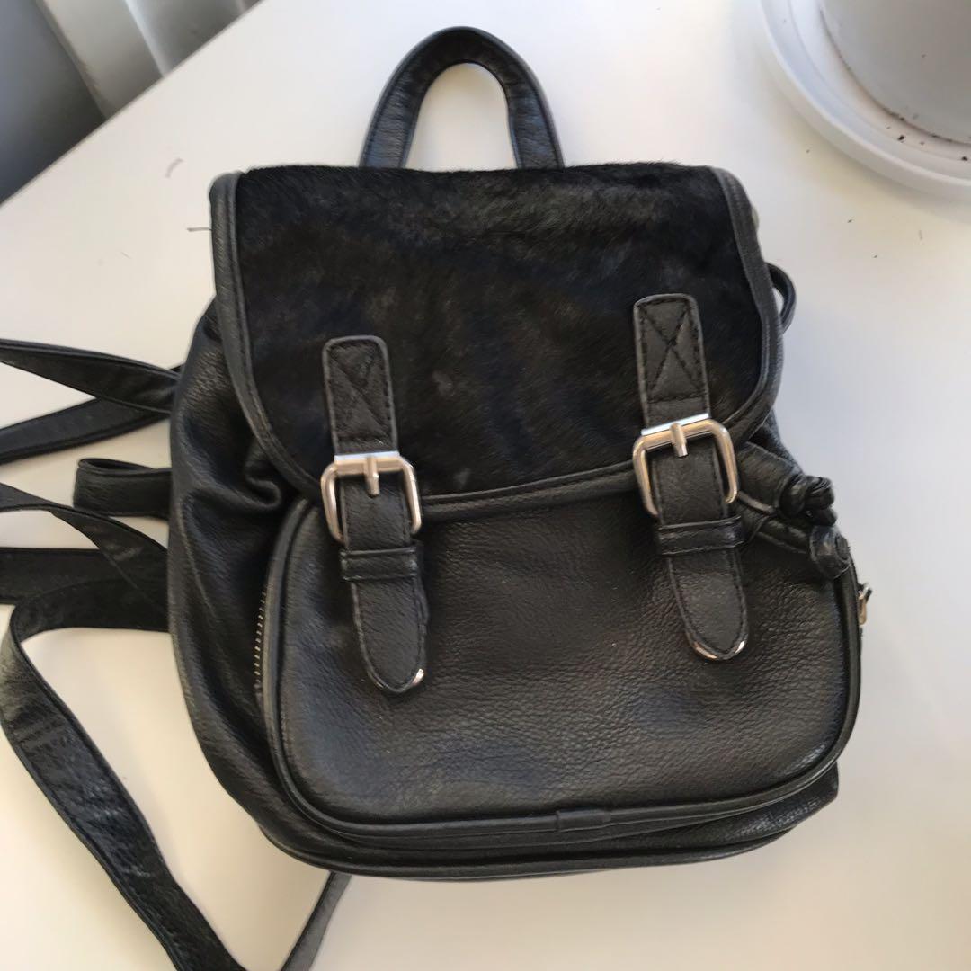 Nila Anthony Black Backpack