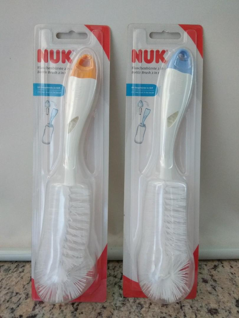 全新 Nuk Bottle Brush 2in1 奶樽奶咀刷 $40/1套