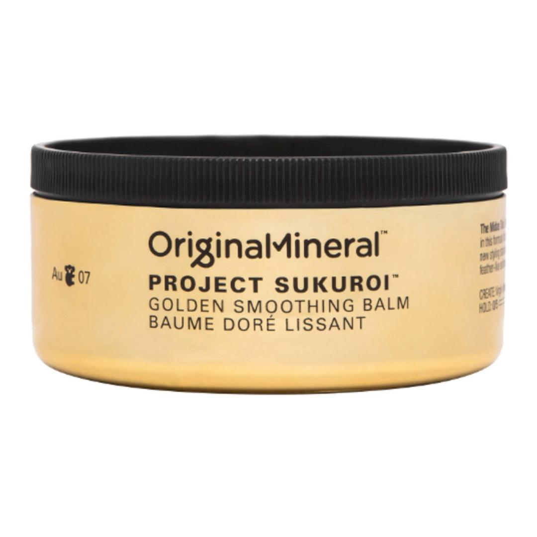 O&M Original Mineral Project Sukuroi Gold Smoothing Hair Balm RRP$45