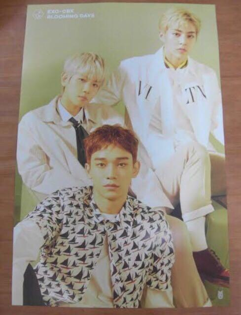 Poster exo cbx blooming day