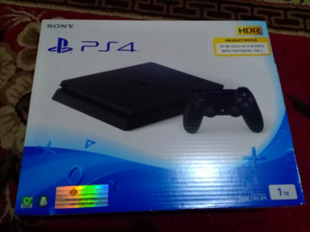 PS 4 SLIM 1TB BARU NEW MURAH !!