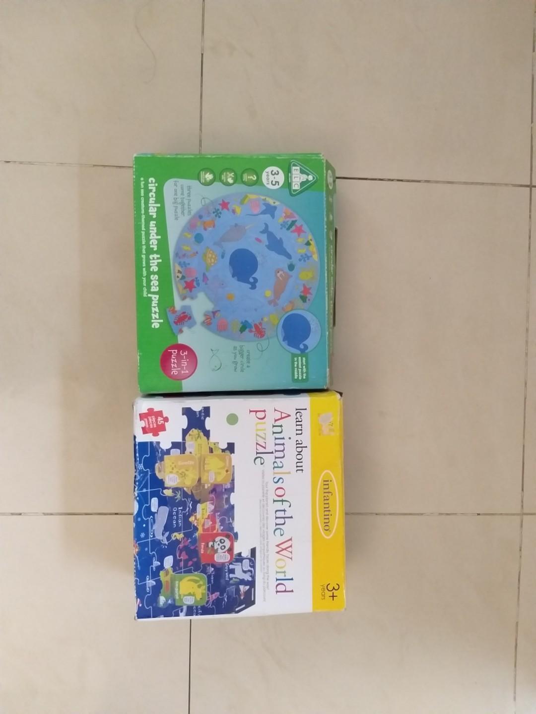 Puzzle ELC dan infantino