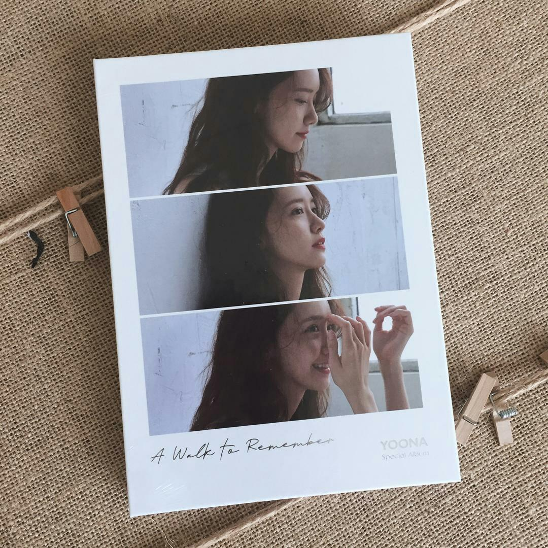 {READYSTOCK-SEALED} YOONA - Special Album A WALK TO REMEMBER