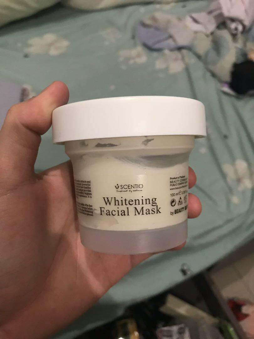 SCENTIO Q10 Clay Whitening Face Mask