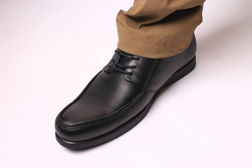 735bdfe0f6636 Sepatu Pantofel Pria Casual Kulit Asli Boston Galia Hitam, Men's ...