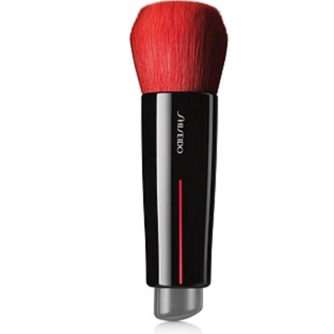 SHISEIDO MAKEUP DAIYA FUDE FACE DUO POWDER BRUSH RRP$68
