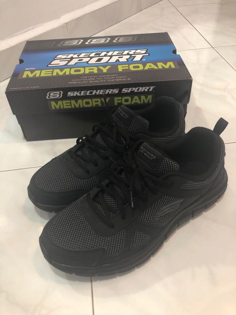 Skechers sport mens shoe black, Men's