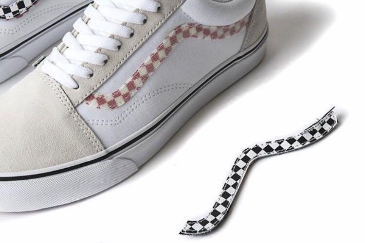 Vans Old Skool Sidestripe V True White