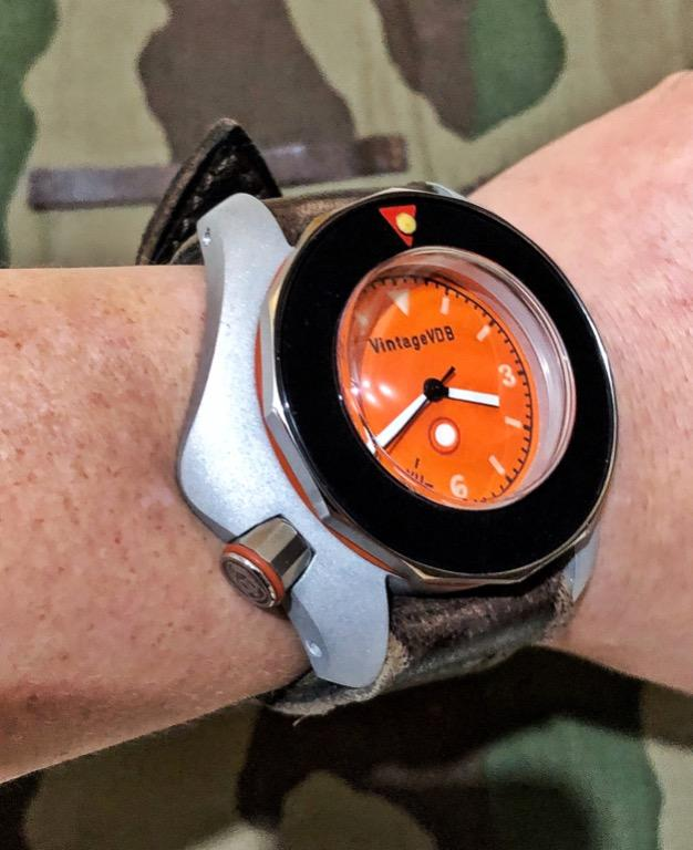 Vintage VDB VII Dural Orange Dial 47mm