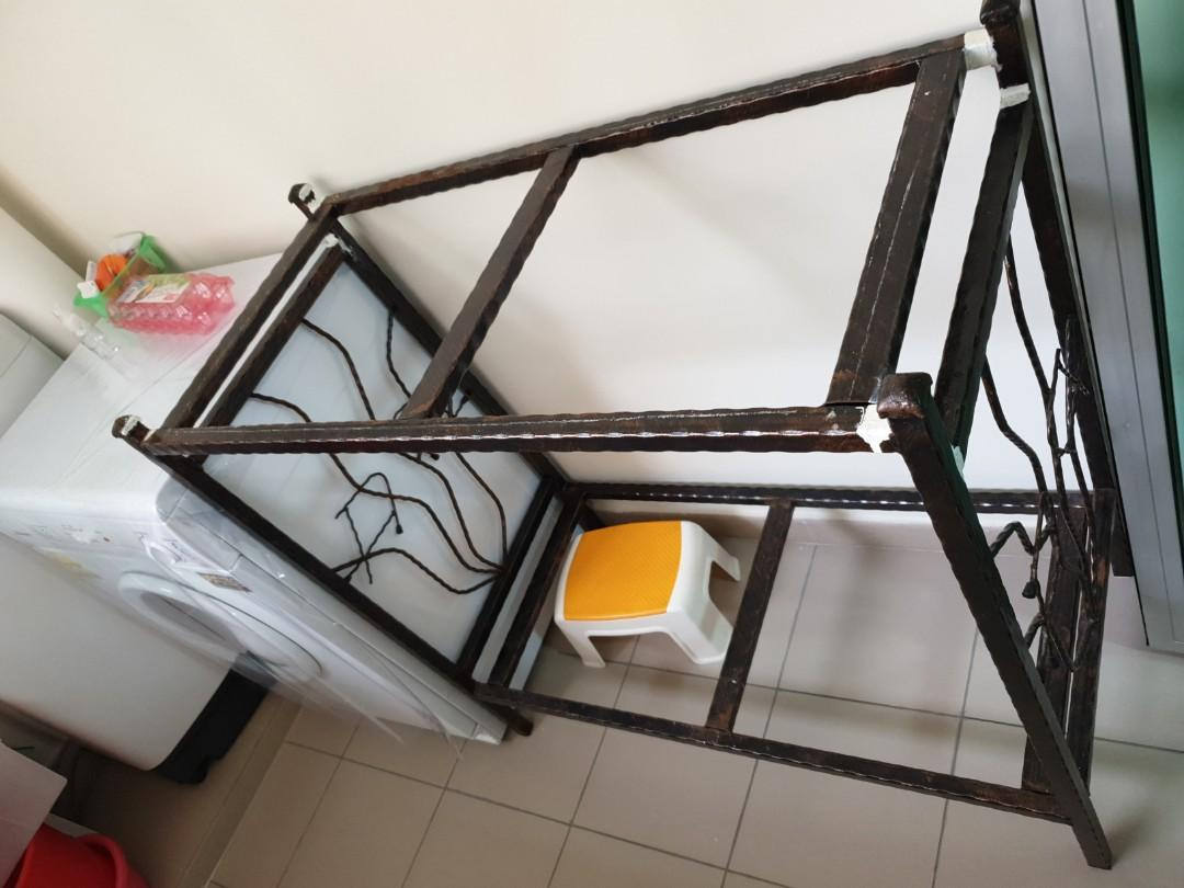 Wrought Iron Stand 3ft For Aquarium Pet Supplies For Fish Fish Tank Accessories On Carousell