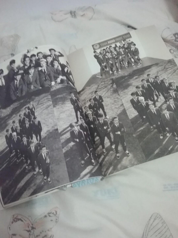 XOXO Photobook Album EXO (Wolf)