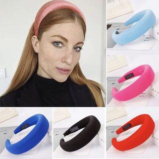 velour velvet headband