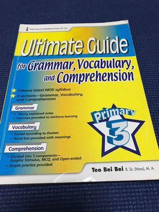 🚚 Eph ultimate guide for grammar, vocabulary and comprehension. Primary 3