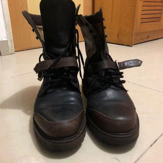 Bally Boots 皮靴 Vintage Italy England #freepricing