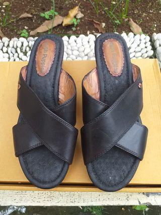 Wedges Hush Puppies - Size 38 Black