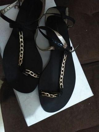 sandal urban n co hitam