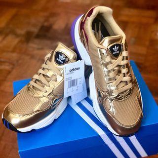 Adidas Falcon Metallic Gold Shoes
