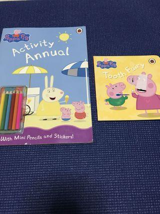 🚚 Peppa pig activity annual, tooth fairy
