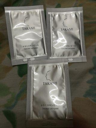 包平郵 $15/3包x1ml  Takami 肌底代謝美容水