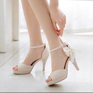 Heels BTH10 - 1101 Sepatu Fashion Import