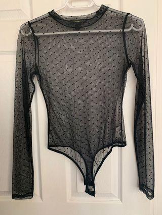 New sheer bodysuit