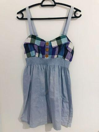 🚚 Preloved Ally Denim Dress