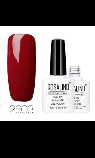 Gel polish - red (10ml)