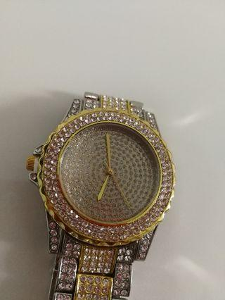 Gold/silver watch(NEW)
