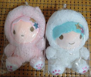 #FAST DEAL $40 FOR A PAIR. VERY CUTE AND ADORABLE #Little Twin Star #Plush/#Stuff Toy/#Soft Toy for collection #collectibles/#Gift. #MRTSENGKANG #MRTSERANGOON #MRTPUNGGOL #MRTMOUNTBATTEN