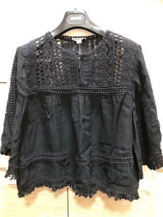 Whistles women's lace top