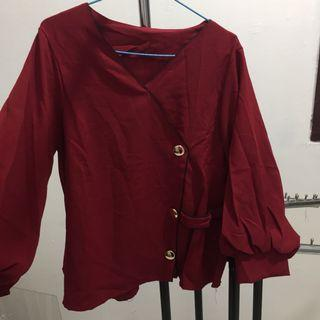 NEW - MOSCREPE BLOUSE