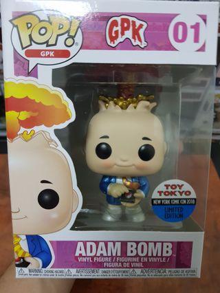 Funko Pop GPK Metallic Adam Bomb Toy Tokyo Exclusive