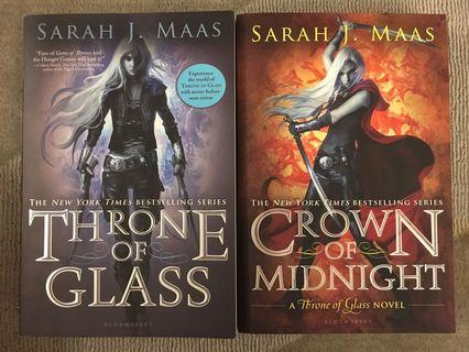 Throne of Glass (book 1 & 2)