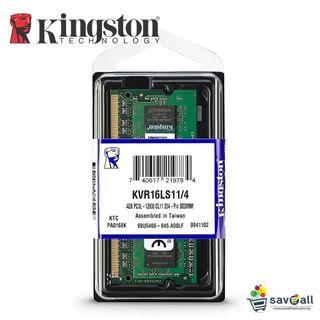 Kingston DDR3L 4gb laptop ram