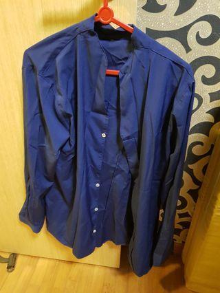 Women navy blue blouse