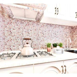 Bathroom Kitchen Feature Wall Mosaic Tiles Stick On