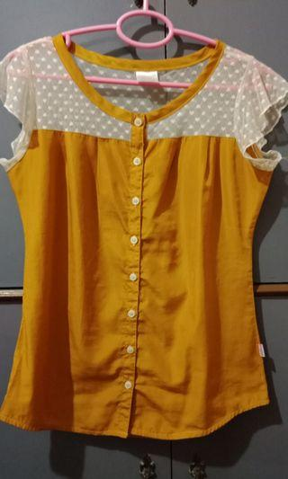 Blouse Yellow